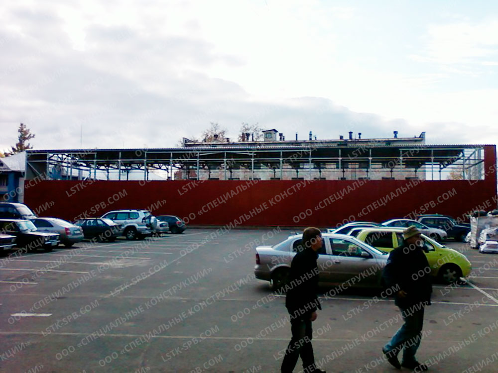 Каркас ангара 15х51х7 Петрозаводск